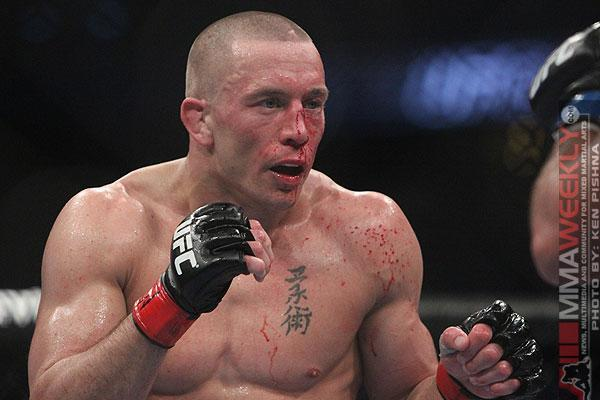 """UFC 167 Results: Georges St-Pierre Barely Hangs on to Belt, but Says He is """"Stepping Away"""""""