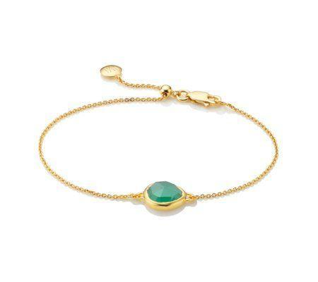"""<p><strong>Monica Vinader</strong></p><p>monicavinader.com</p><p><strong>$175.00</strong></p><p><a href=""""https://go.redirectingat.com?id=74968X1596630&url=https%3A%2F%2Fwww.monicavinader.com%2Fus%2Fsiren-fine-chain-bracelet%2Fgold-vermeil-siren-fine-chain-bracelet-green-onyx%3Fsearch%3D%252Fshop%252Fby-collection%252Fsiren-1%252Fsort-by%252Fbest-sellers%26ranMID%3D38783%26ranEAID%3DTnL5HPStwNw%26ranSiteID%3DTnL5HPStwNw-39lahKKLj_TPPR0Fh6ftvA%26siteID%3DTnL5HPStwNw-39lahKKLj_TPPR0Fh6ftvA&sref=https%3A%2F%2Fwww.townandcountrymag.com%2Fstyle%2Fjewelry-and-watches%2Fg34464609%2Fkate-middleton-meghan-markle-wear-monica-vinader-jewelry%2F"""" rel=""""nofollow noopener"""" target=""""_blank"""" data-ylk=""""slk:Shop Now"""" class=""""link rapid-noclick-resp"""">Shop Now</a></p>"""