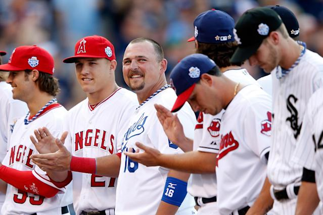 Billy Butler is destroying the Iowa Falls Parks & Rec league. (Getty Images)