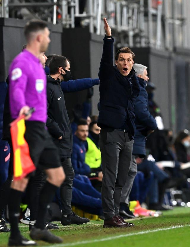 Fulham manager Scott Parker felt his side gained no advantage from the handball
