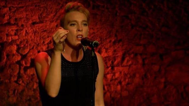 <p>Barbara Weldens was a French singer-songwriter who died July 19 after being accidentally electrocuted while performing on stage. She was 35.<br> (Photo: YouTube) </p>