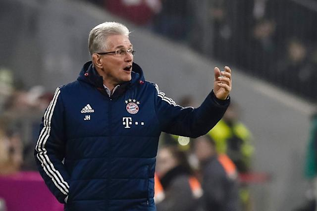 Since Jupp Heynckes replaced Carlo Ancelotti as Bayern Munich's head coach at the start of October 2017, the team have won 22 of 23 matches (AFP Photo/Gunter SCHIFFMANN)