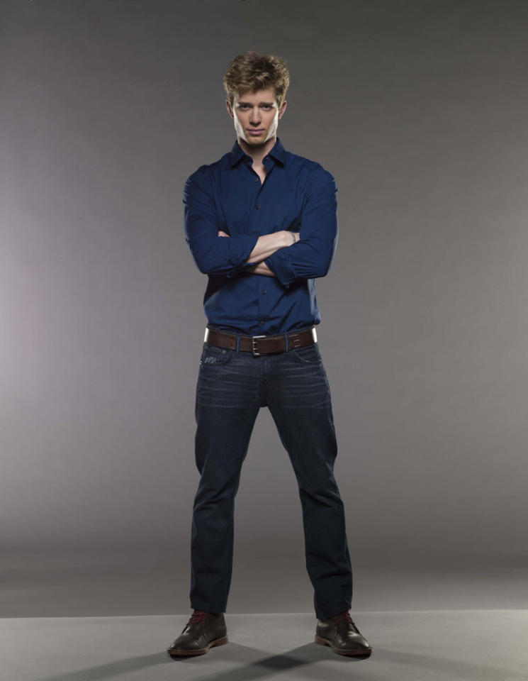 "Drew Van Acker in the Lifetime series ""Devious Maids."""