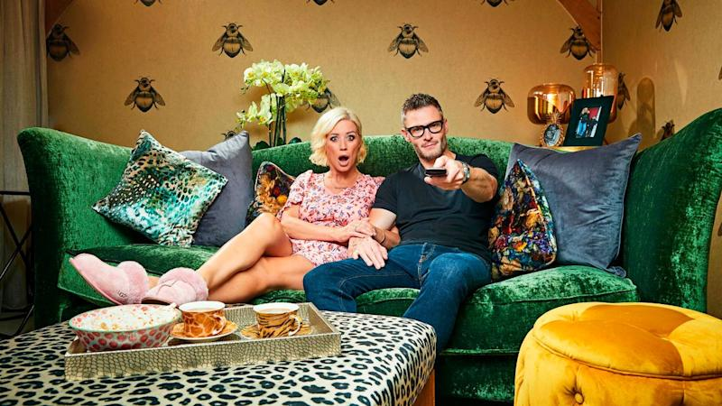 Denise Van Outen and partner Eddie will return to the show (Channel 4)