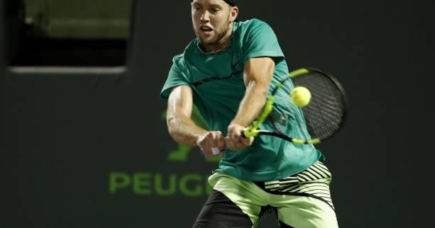 Tennis - Houston - Jack Sock qualifié pour les quarts de finale à Houston