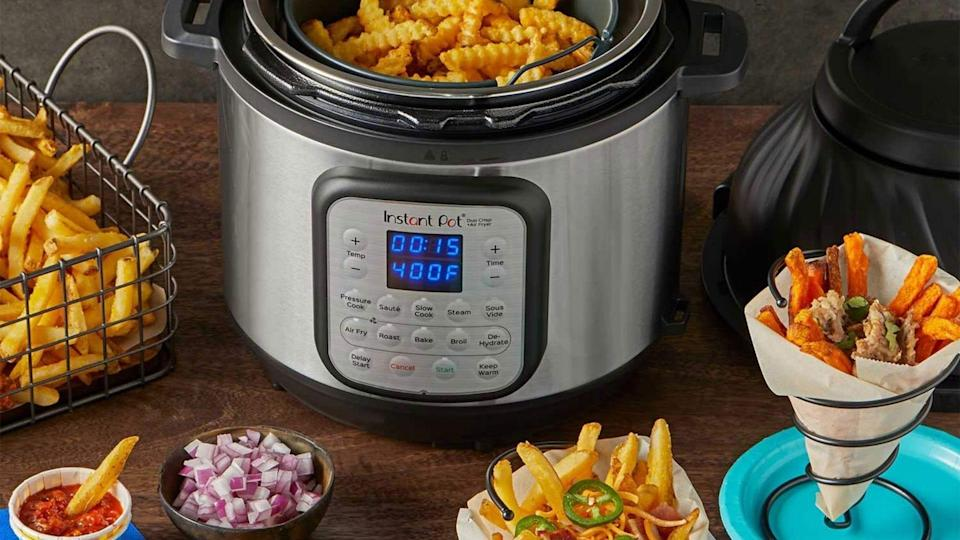 We found the Instant Pot Duo Crisp pressure cooker to not only offer good cooking technology, but it's also easy to clean.
