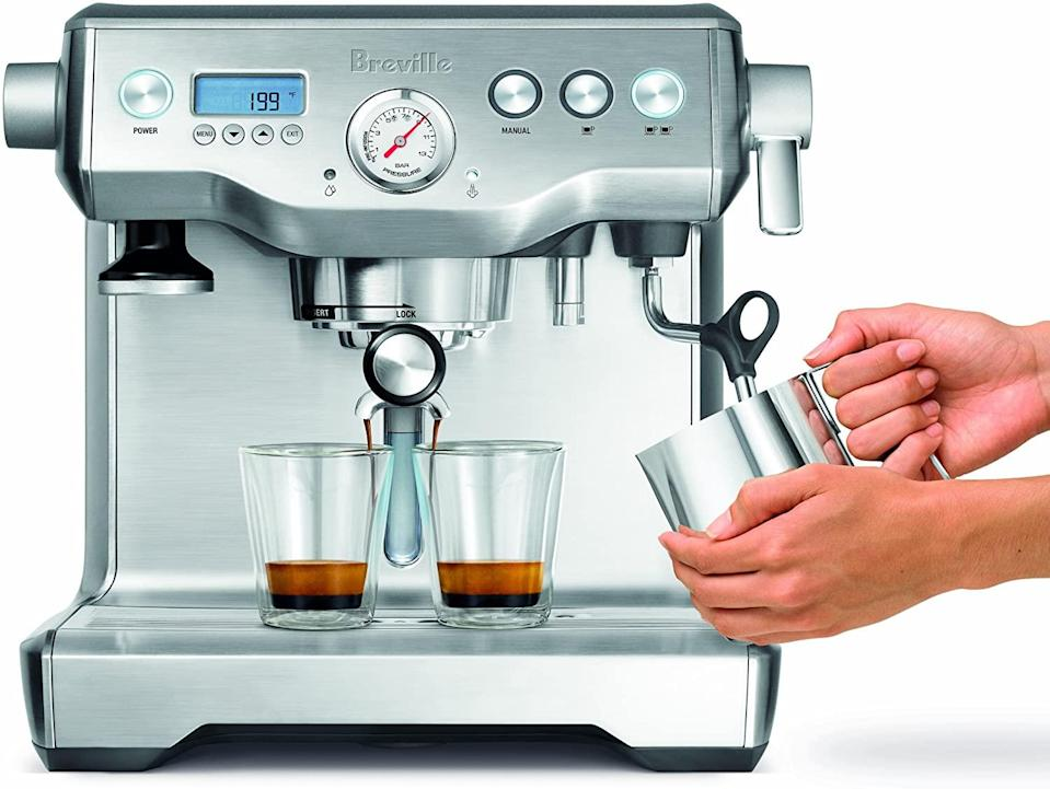 espresso machine double boiler breville