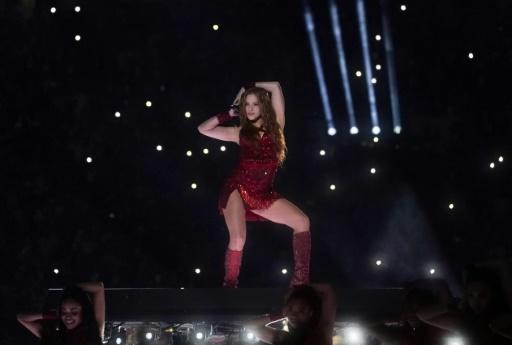 Colombian singer Shakira opened the Super Bowl LIV halftime performance in a red hot ensemble