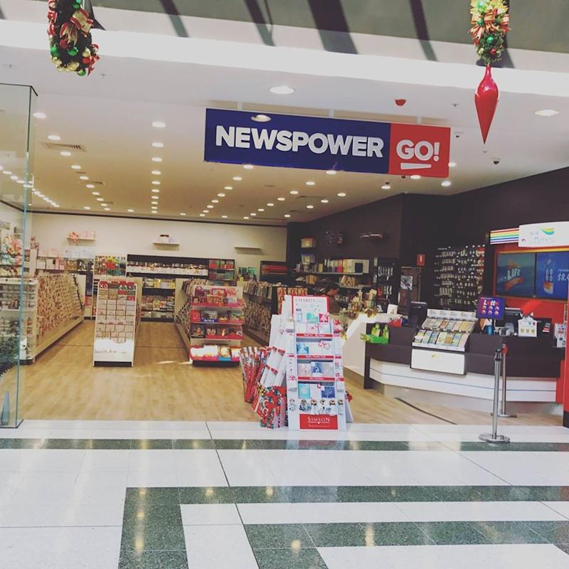 Pictured is the news agency in Narellan. Source: Facebook/Narellan NewspowerGo & Office Supplies