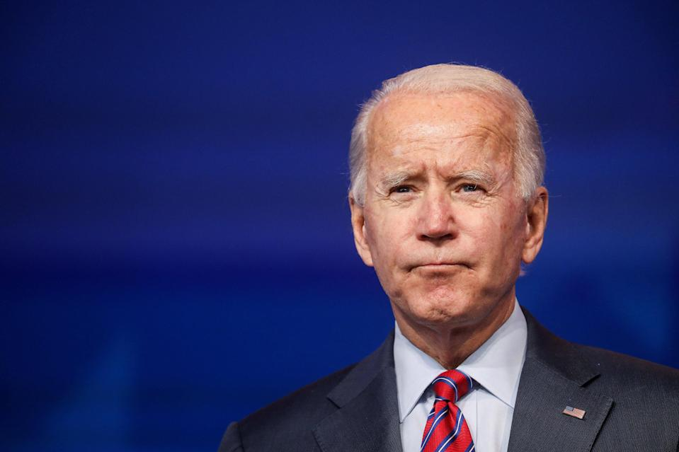 <p>US president-elect Joe Biden</p> (REUTERS)