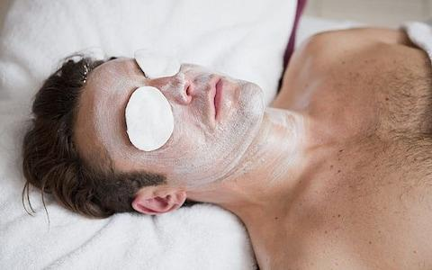Man in spa - Credit: Alamy Stock Photo