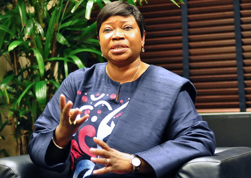 """International Criminal Court chief prosecutor Fatou Bensouda said """"at least 61 detainees"""" were subjected to """"torture (and) cruel treatment"""" by US armed forces in Afghanistan between May 1, 2003 and December 31, 2014 (AFP Photo/Jan Hennop)"""