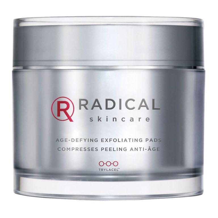 """<p><a rel=""""nofollow"""" href=""""https://www.beautyexpert.com/radical-skincare-age-defying-exfoliating-60-pads/10912403.html"""">Beauty Expert</a> - £45</p><p>Packed with both AHAs and BHAs, Radical Skincare's nightly pads provide thorough, chemical exfoliation that only takes a few swipes. Clogged pores, sun damage, dullness, flaky skin and bumpy texture don't stand a chance against them, which is why they have such a huge beauty journo following. Hello, smoothest skin ever.  </p>"""