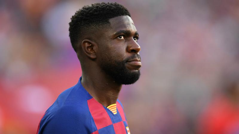 Barcelona confirm extent of Umtiti injury as Suarez nears return to fitness