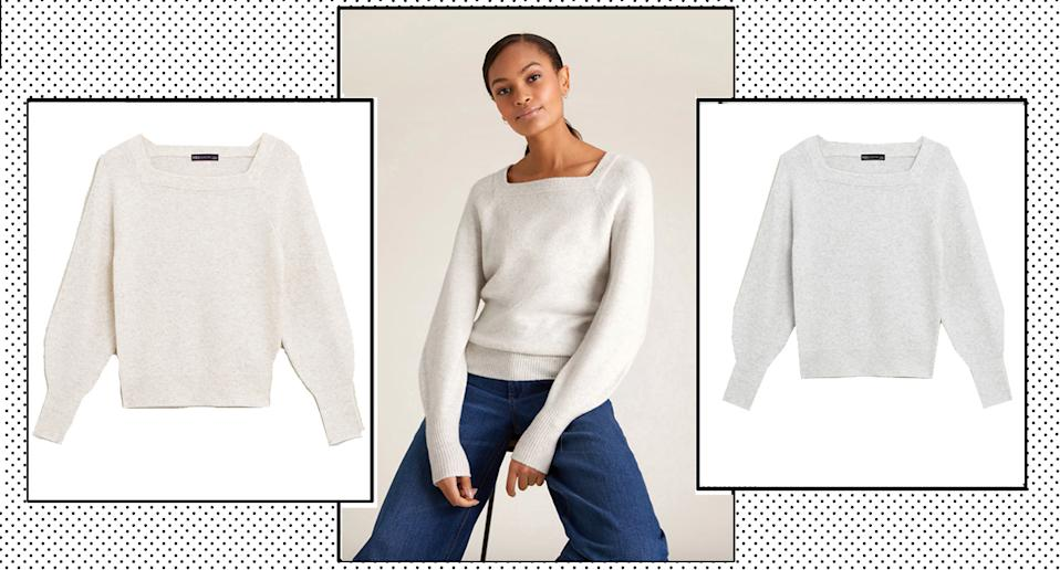 This M&S jumper is tipped to sell out - again. (Marks and Spencer)