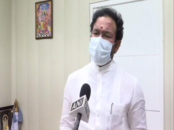 Union Minister G Kishan Reddy speaking to ANI in New Delhi on Tuesday. (Photo/ANI)