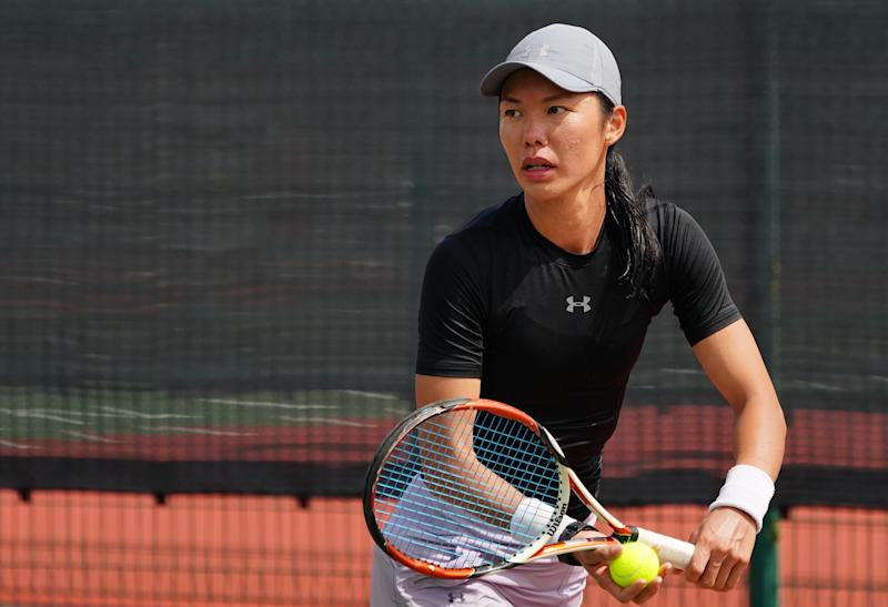 Singapore tennis player Sarah Pang has entered the WTA women's doubles rankings for the first time on 9 December. (PHOTO: Justin Koh)
