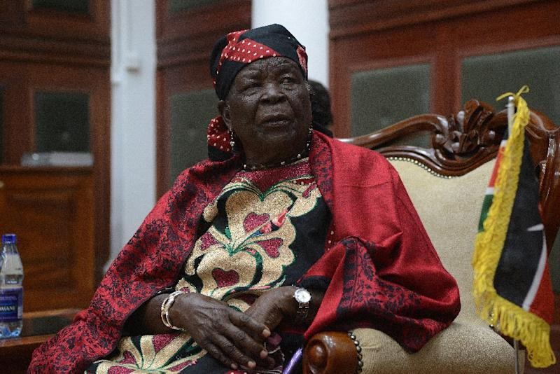 US President Barack Obama's grandmother -- known as Mama Sarah -- lives in the small village of Kogelo in western Kenya