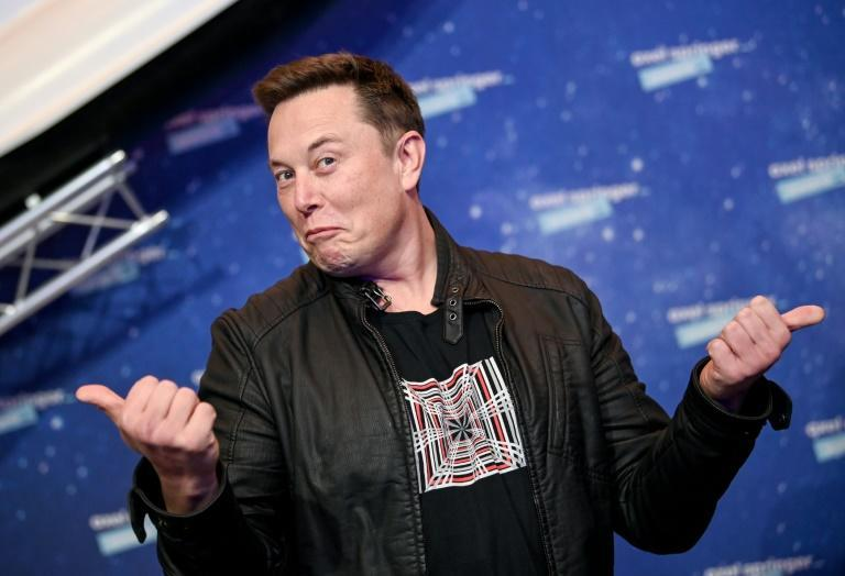 """Tesla and SpaceX founder Elon Musk (pictured December 2020) has cultivated an """"outlaw, outsider persona"""""""