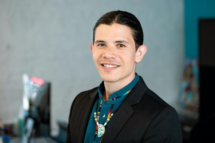 """Only five states mentioned Indian boarding schools in their state content standards, which is """"unimaginable,"""" said Sam Torres of The Native American Boarding School Healing Coalition. """"It's obviously a representation and reflection of what is being valued in educational and curricular context.""""  (Photo/NABSHC)"""