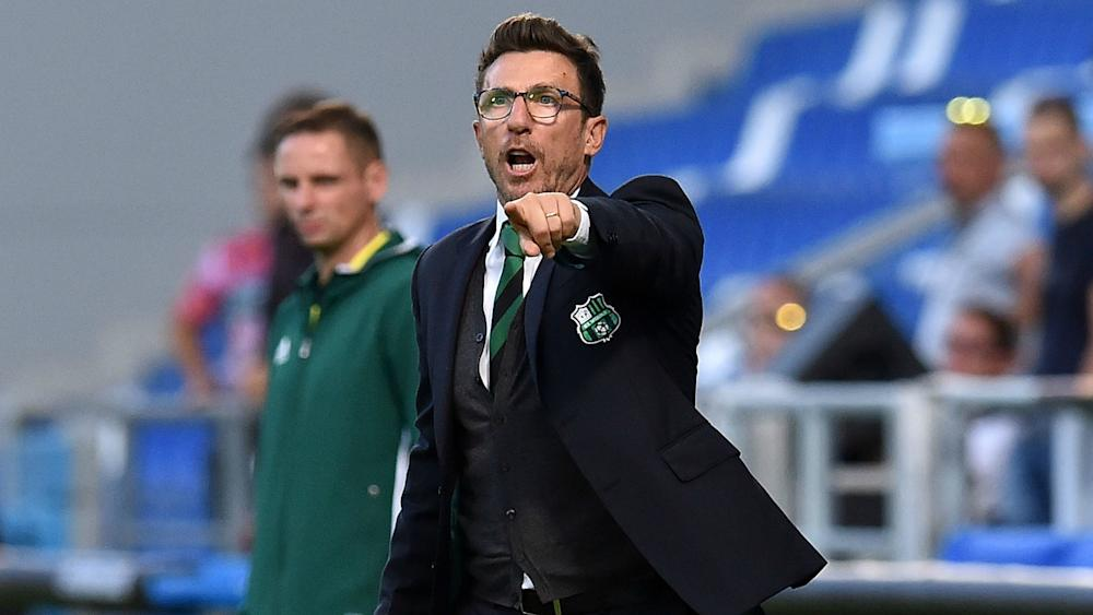Eusebio Di Francesco Sassuolo Athletic Bilbao UEFA Europa League 15092016