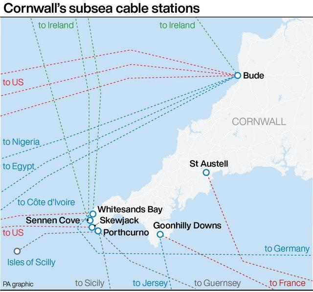 Google announces new subsea cable running between US, UK and Spain