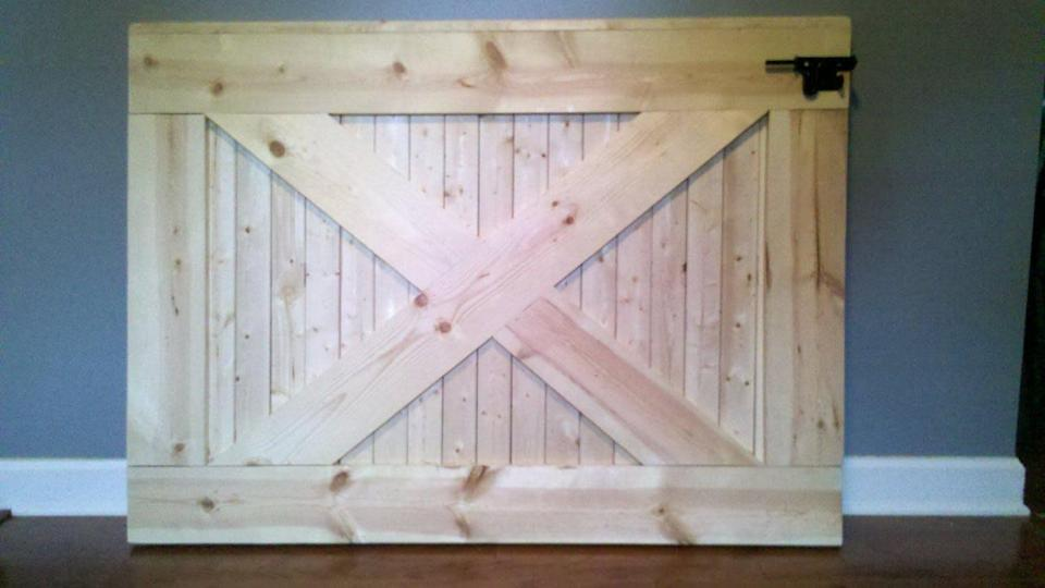 Love LEE Crafter Farmhouse Rustic Baby Gate