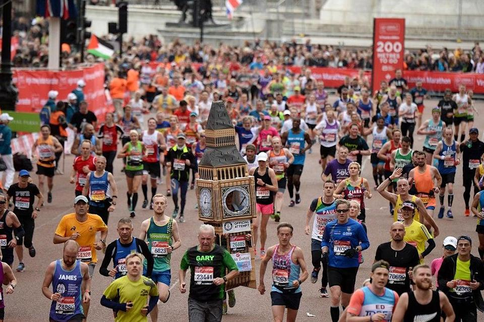 'The London Marathon is in my sights for next year'  (Getty)