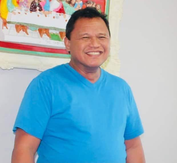 Police have released this photo of Angelo Galido of Estevan. The 55-year-old was found dead in his home on Monday night in what is being considered a homicide.  (courtesy RCMP - image credit)