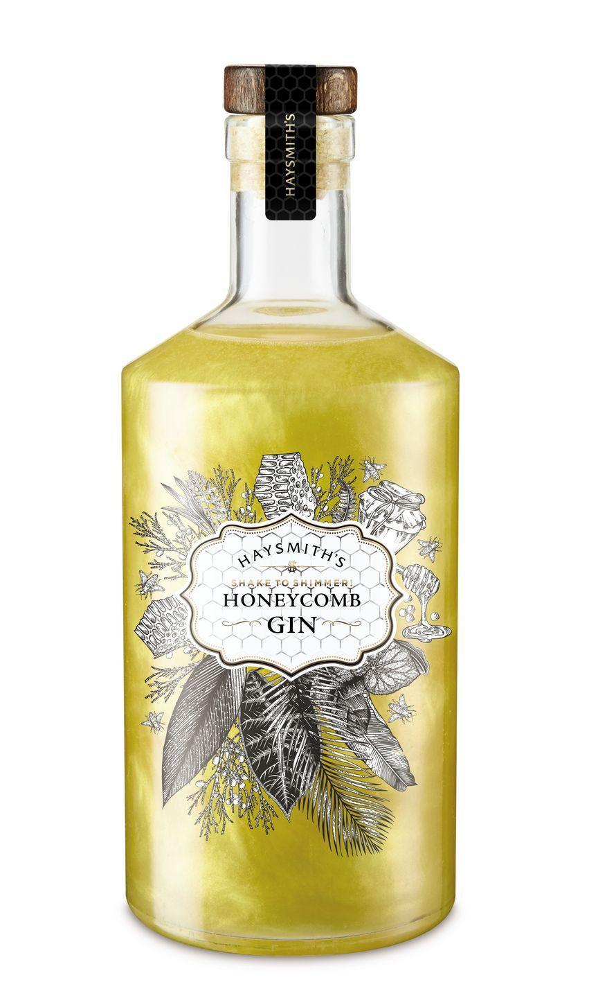 <p>As bittersweet gins continue to emerge in the market, the Haysmith's Honeycomb gin offers a sweet honeycomb taste with juniper botanicals to create a flavour explosion. Give it a shake to reveal the gold shimmer – perfect for Instagram!</p>