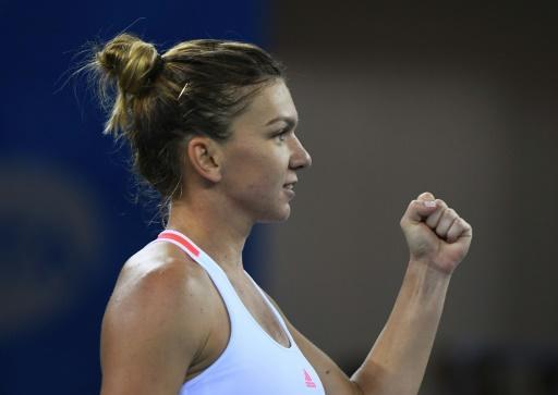 Halep books place at WTA Finals as she reaches Wuhan semis