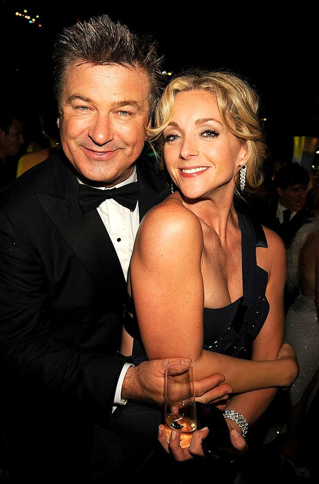 """Alec Baldwin cozied up to his lovely """"30 Rock"""" costar Jane Krakowski at HBO's bash, which was held at the Pacific Design Center in West Hollywood. Jeff Kravitz/<a href=""""http://filmmagic.com/"""" target=""""new"""">FilmMagic.com</a> - September 21, 2008"""