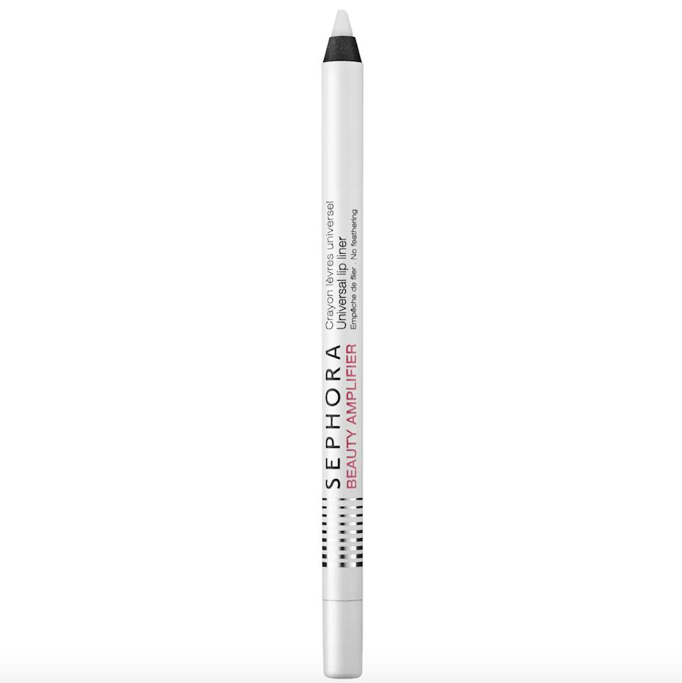"""Combat feathering and fading without having to match up liners with lippies. It's 2021 — let's not waste our time on that, OK?<br /><br /><strong>Promising review:</strong>""""I am in love with this lip liner! I have used it with different lipsticks and it works perfectly! Such a life saver — don't waste your money on a a bunch of liners when you can just have this one!"""" —<a href=""""https://go.skimresources.com?id=38395X987171&xs=1&xcust=HPLoveMakeupSuckPuttingOn-6099ace3e4b0b37f894cd0a6-&url=https%3A%2F%2Fwww.sephora.com%2Fproduct%2Fbeauty-amplifier-universal-lip-liner-P379324"""" target=""""_blank"""" rel=""""noopener noreferrer"""">shoesNrouge</a><br /><br /><strong>Get it from Sephora for <a href=""""https://go.skimresources.com?id=38395X987171&xs=1&xcust=HPLoveMakeupSuckPuttingOn-6099ace3e4b0b37f894cd0a6-&url=https%3A%2F%2Fwww.sephora.com%2Fproduct%2Fbeauty-amplifier-universal-lip-liner-P379324"""" target=""""_blank"""" rel=""""noopener noreferrer"""">$10</a>.</strong>"""