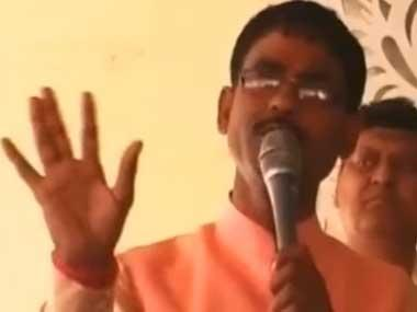 'Hindustan is for Hindus, past Uttar Pradesh governments provided benefits only to Muslims', says BJP MLA Vikram Saini