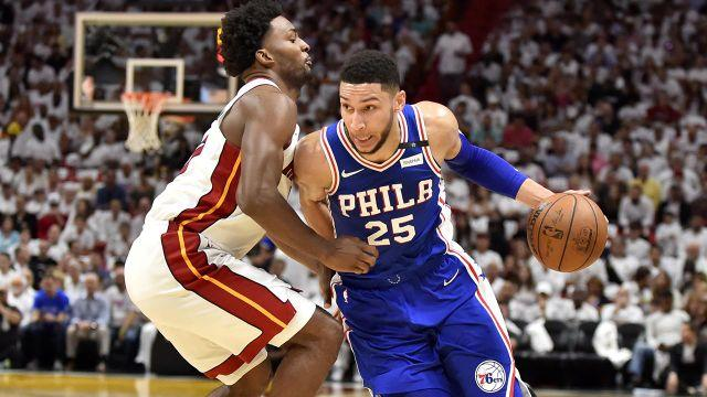 Simmons was on fire again. Image: Getty