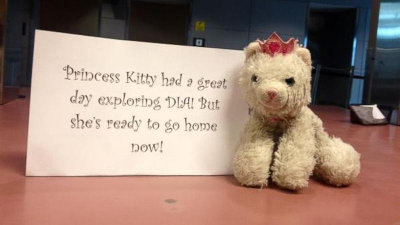 Airport Takes 'Princess Kitty' on Adventure Before Returning Her to Little Girl