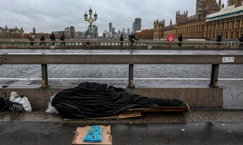 Government pledges £236m to tackle rough sleeping