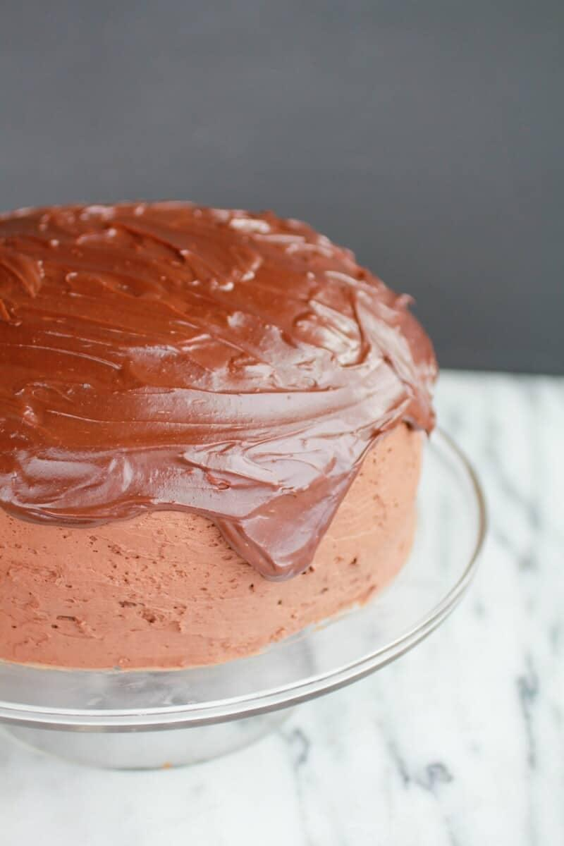 "<p>Calling all chocolate fans! This dreamy cake is as rich, moist, and chocolaty as it looks. With a creamy frosting and mouthwatering texture, good luck having just one piece.</p> <p><strong>Get the recipe</strong>: <a href=""https://www.halfbakedharvest.com/chocolate-lovers-chocolate-cake/"" class=""link rapid-noclick-resp"" rel=""nofollow noopener"" target=""_blank"" data-ylk=""slk:chocolate-lovers chocolate cake"">chocolate-lovers chocolate cake</a></p>"