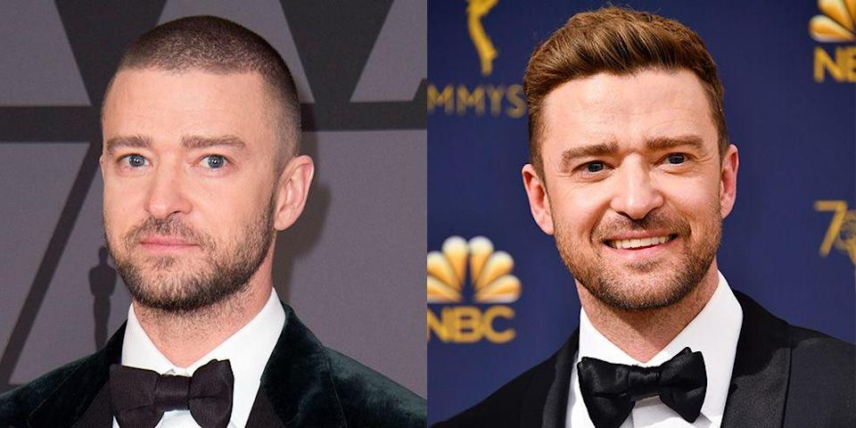 <p><strong>Signature: </strong>A buzz cut</p><p><strong>Without Signature: </strong>At the 70th Annual Emmy Awards in 2018 rocking an undercut bouffant style. </p>