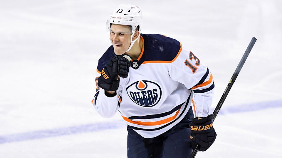 Jesse Puljujarvi is making the most of his second chance with the Oilers. (Photo by Brett Holmes/Icon Sportswire via Getty Images)