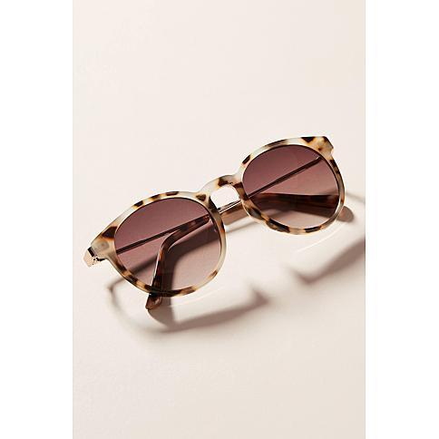 Lexi Rounded Sunglasses (Credit: Anthropologie)