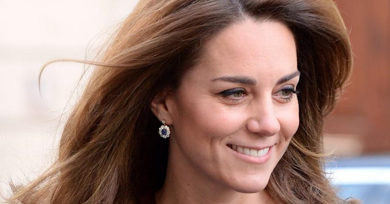 Kate Middleton Chose a Very Special Accessory to Complete Her All-Blue Look at Charity Launch