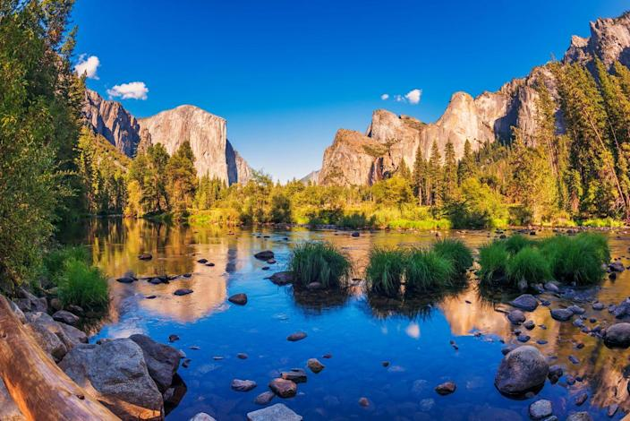 "<p>California has so many beautiful landscapes, from gorgeous coastline beaches to the Golden Gate Bridge, but its hard to beat Yosemite National Park. Photographer Ansel Adams once said, ""Yosemite Valley, to me, is always a sunrise, a glitter of green and golden wonder in a vast edifice of stone and space."" </p>"