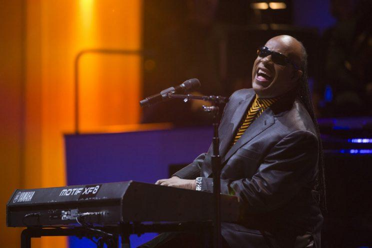 Stevie Wonder (Photo: Virginia Sherwood/NBC)