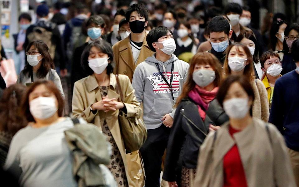 Measures are tightening in the Japanese capital