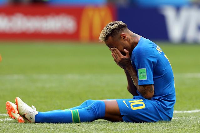 The Brazil star burst into tears after scoring at the end of Friday's win, and his team-mate feels it will lift some of the weight off of his back