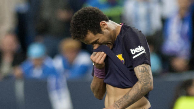 The Brazilian attacker was banned for three games after receiving two yellow cards against Malaga and the club saw their first appeal dismissed