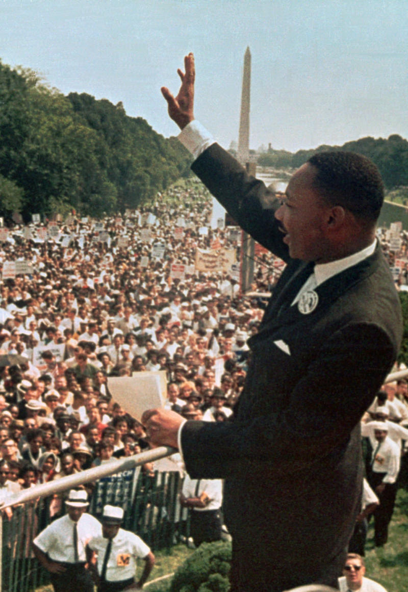 50 years after King, marchers gather again in DC