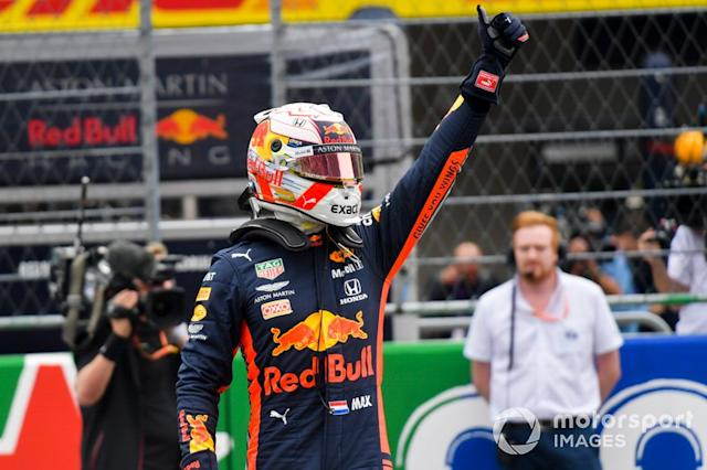 """Il poleman Max Verstappen, Red Bull Racing <span class=""""copyright"""">Jerry Andre / Motorsport Images</span>"""