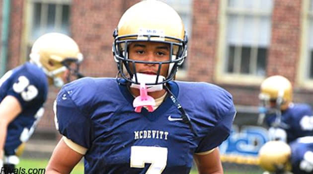 Record setting Bishop McDevitt wide receiver Brian Lemelle — Rivals.com